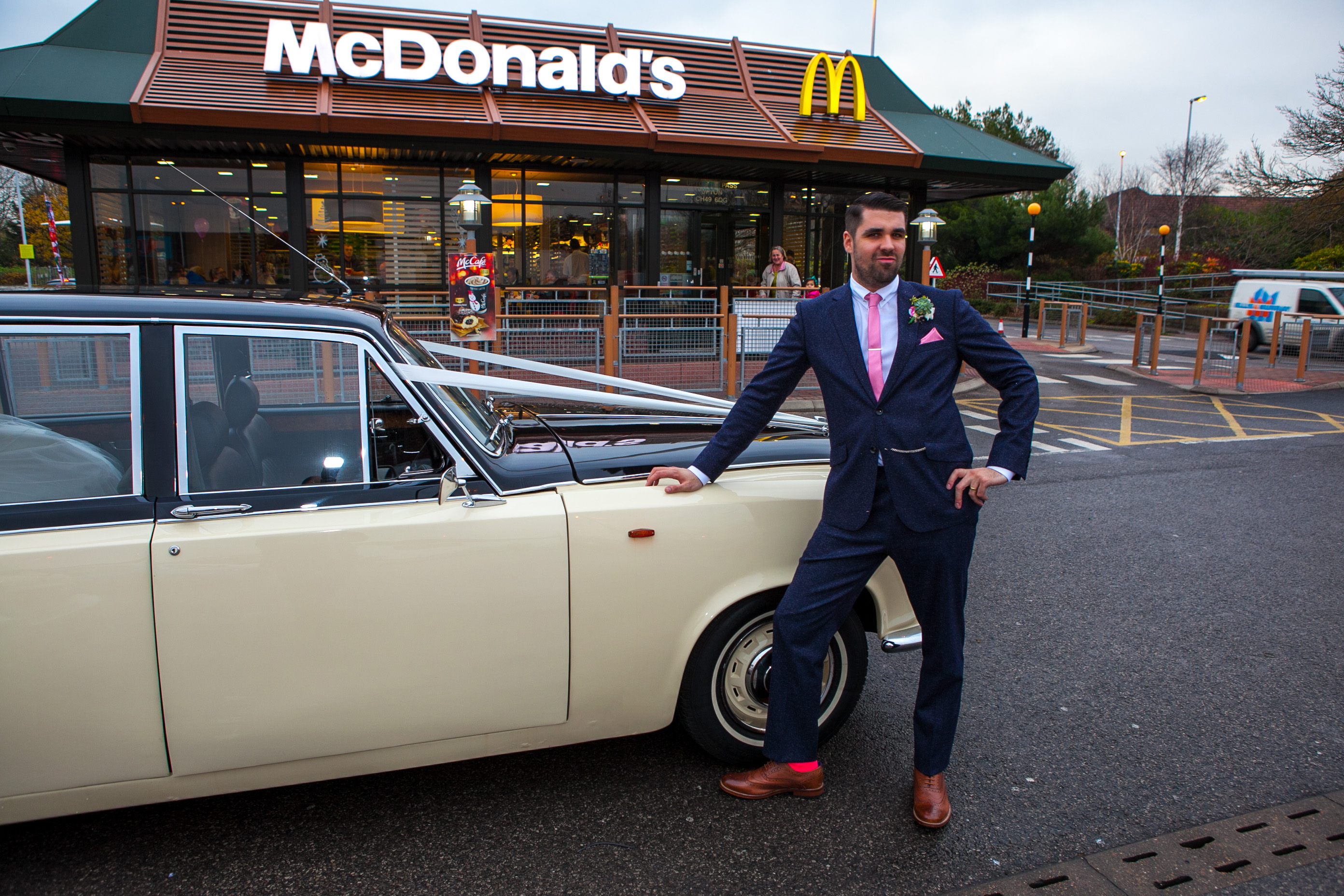 Groom mcdonalds
